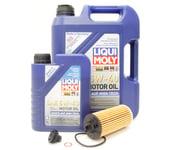 BMW 5W40 Oil Change Kit - Liqui Moly 11428570590KT3