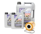 BMW Oil Change Kit - Mann/Liqui Moly 534998