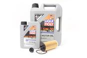 BMW 5W30 Oil Change Kit - Liqui Moly 11428570590KT1