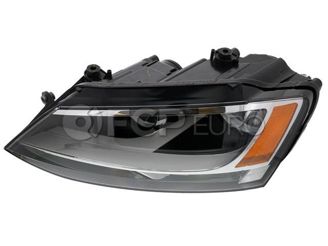 VW Headlight Left (Jetta) - Genuine VW Audi 5C7941005