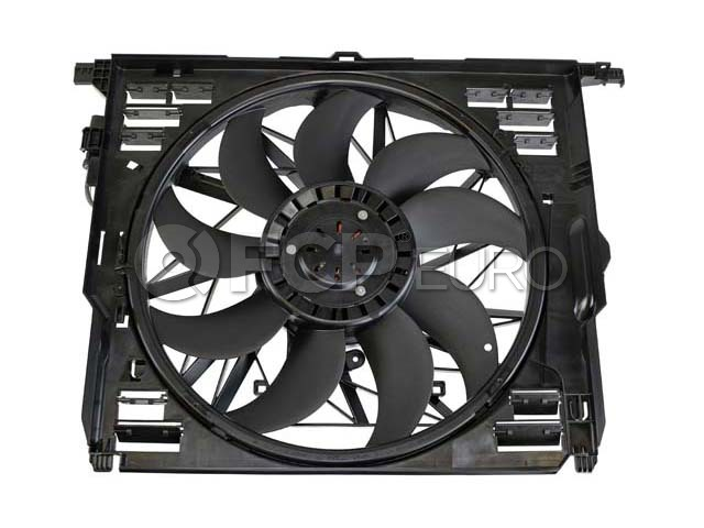 BMW Engine Cooling Fan Assembly - Genuine BMW 17428509743