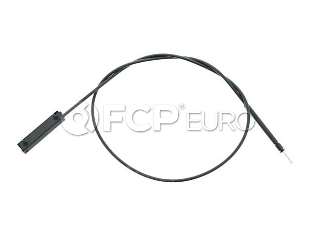 BMW Hood Release Cable Front (128i 135i 1 Series M 135is) - Genuine BMW 51237184603