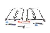 Audi VW Valve Cover Gasket Kit - Elring/Reinz 535117