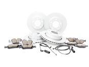 BMW Brake Kit - Zimmermann/Akebono 34116855153KTFR