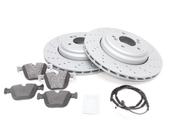 BMW Brake Kit - Zimmermann/Textar 34212283803KT3