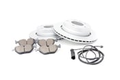 BMW Brake Kit - Zimmernann/Akebono 34216855155KT