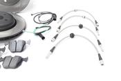BMW Performance Brake Kit - Stop Tech/Hawk E46BK2ST