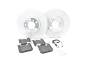 BMW Drilled and Slotted Brake Kit - Genuine BMW 34106797602KTF