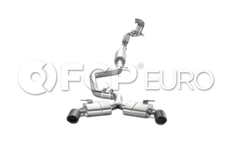VW Catback Exhaust System - Akrapovic AKR SVWT2
