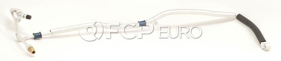 BMW A/C Hose Drier to Firewall Evaporator - Genuine BMW 64538364097