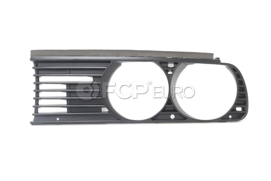 BMW European Grille Left (E30) - Genuine BMW 51131876091