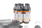 VW DSG Transmission Oil Pan Kit with Fluid - Genuine VW Audi / Liqui Moly 02E325201DKT2