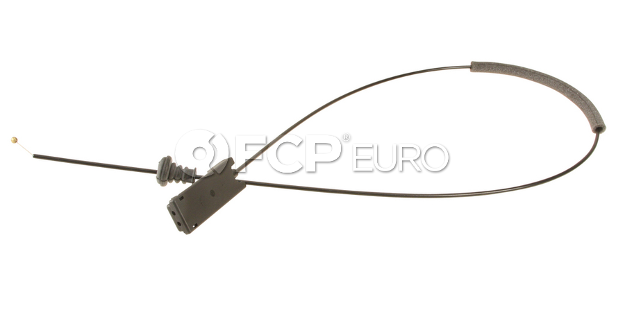 Audi Hood Release Cable - Genuine VW Audi 4E0823543A