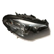 BMW Headlight Assembly Right (528i 535d 550i) - Hella 63117343906