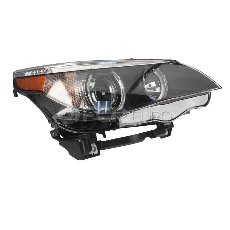 BMW Bi-Xenon Adaptive Headlight Assembly - Hella 63127160158