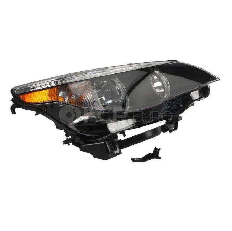 BMW Headlight Assembly w/o Adaptive - Hella 63127166116