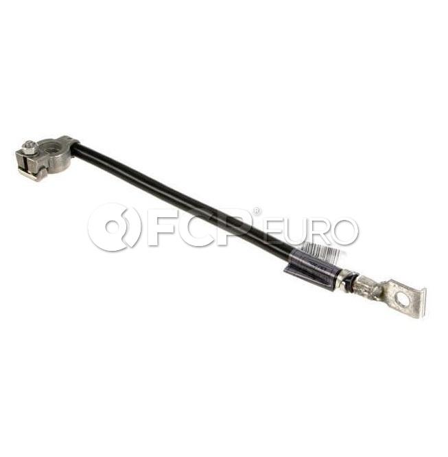 BMW Battery Cable (Ground) - Genuine BMW 61128373946