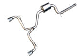 VW Catback Exhaust System - AWE Tuning 302032022