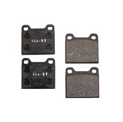 Volvo Brake Pad Set - ATE 30793802