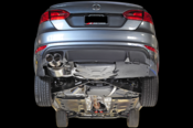 VW Touring Edition Catback Exhaust System - AWE Tuning 301523050