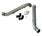 Audi Stainless Steel Bipipe Set - 034Motorsport 0341085001