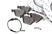BMW Brake Kit - Zimmermann/Textar 34112283801KTF3