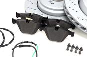 BMW Brake Kit - Zimmermann/Textar 34112283801KTFR2
