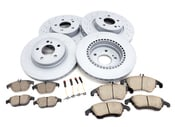 Mercedes Brake Kit - Zimmermann W204207BK