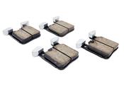 BMW Brake Pad Set - Akebono EUR1656