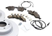 BMW Brake Kit - Zimmermann 34116794427KTFR1
