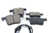 BMW Brake Pad Set - Akebono EUR1561A