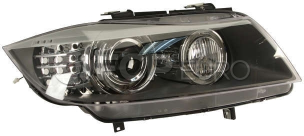 BMW Adaptive Xenon Headlight Assembly Right - Hella 63117240262