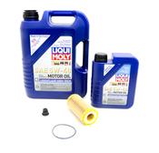 VW Oil Change Kit 5W-40 - Liqui Moly KIT-539037