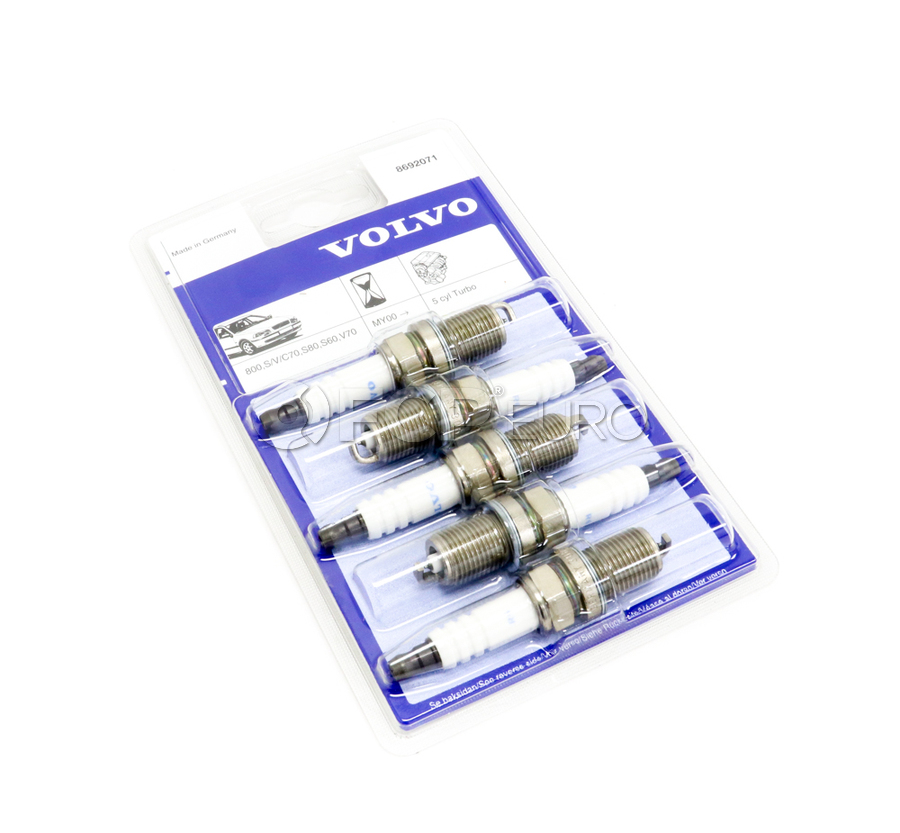 Volvo Spark Plug Set - Genuine Volvo 8692071