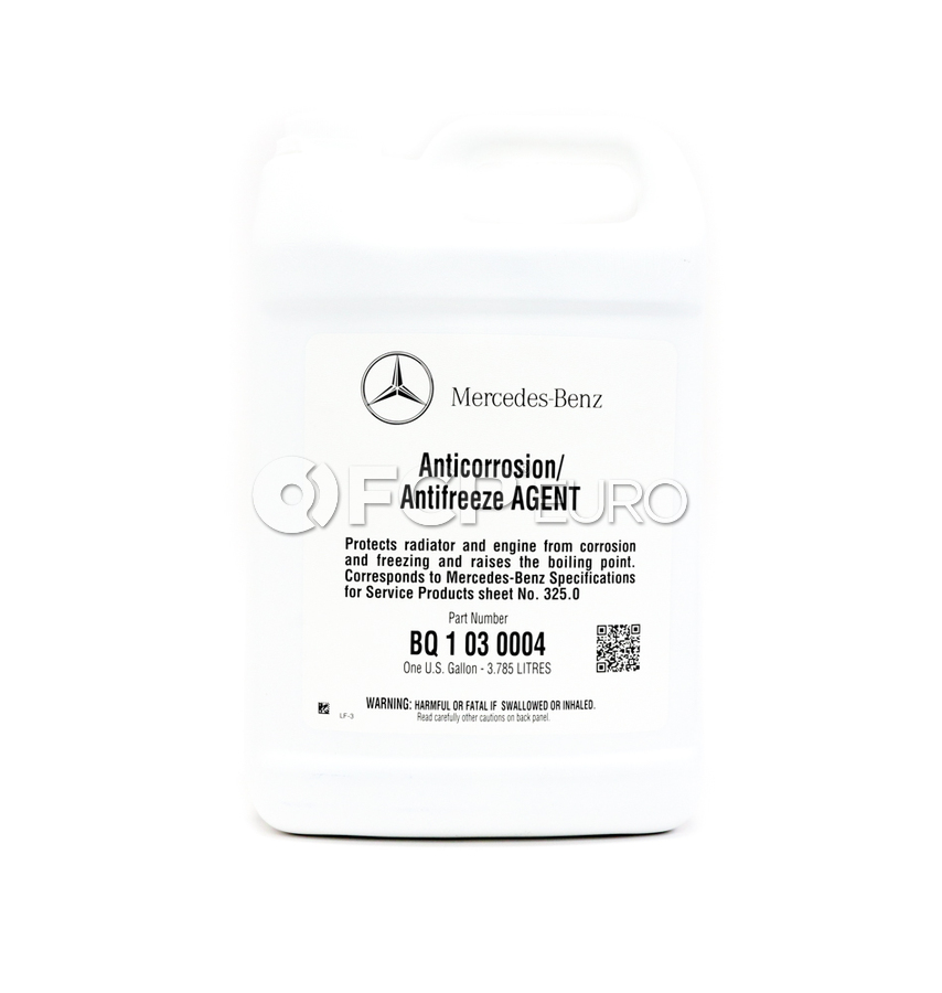 Mercedes Coolant - Genuine Mercedes Q1030004