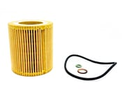 BMW Engine Oil Filter Kit - Mann 11427953129