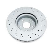 Mercedes Brake Disc - Zimmermann 000421301207
