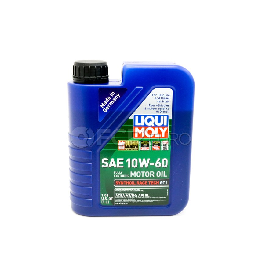 10W60 Synthoil Race Tech GT1 Engine Oil (1 Liter) - Liqui Moly LM2068