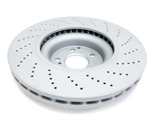 Mercedes Brake Disc - Zimmermann 0004212012