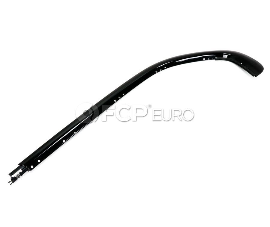 BMW Moulding Side Frame Rear Left (Gloss Black) - Genuine BMW 51137220201