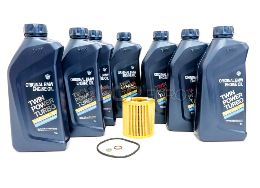 BMW 0W30 Oil Change Kit - 11427953129KT2