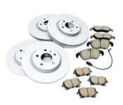 Audi Brake Kit - Zimmermann/Akebono 8R0615301F