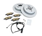 Mini Brake Kit - Zimmermann/Akebono 34216774987KTR