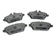 Mini Brake Pad Set - Akebono EUR1308