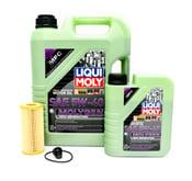 VW Oil Change Kit 5W-40 - Liqui Moly Molygen KIT-06K115562LM