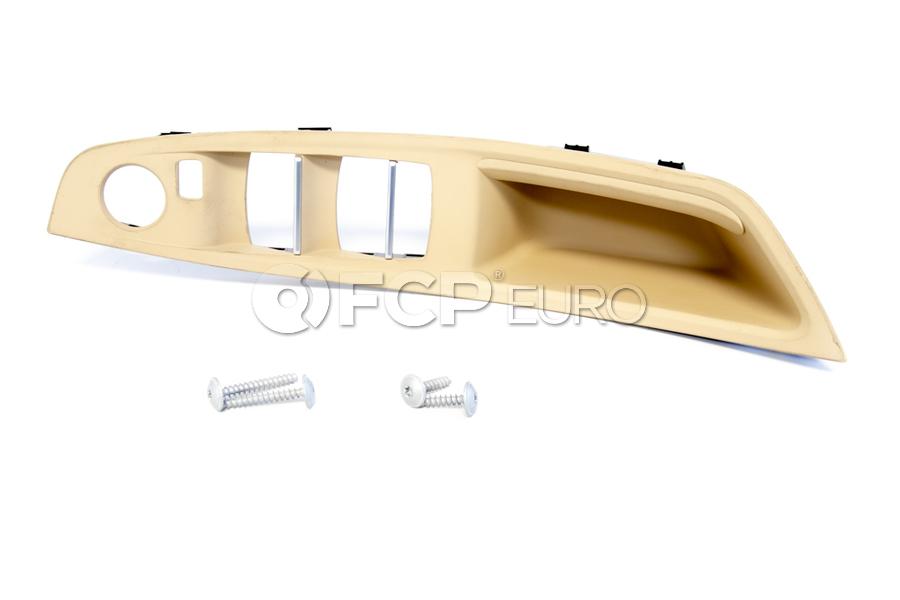 BMW Left Recessed Grip (Venetobeige) - Genuine BMW 51417225867