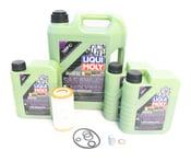 Mercedes Oil Change Kit 5W-40 - Liqui Moly Molygen 0001802609.8L