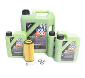 Mercedes Oil Change Kit 5W-40 - Liqui Moly Molygen 2751800009.8L