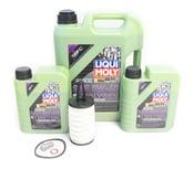 Mercedes Oil Change Kit 5W-40 - Liqui Moly Molygen 2761800009.7L