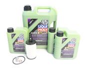 Mercedes Oil Change Kit 5W-40 - Liqui Moly Molygen 2761800009.8L